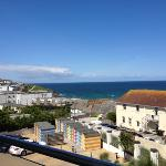 view, parking spaces and own beach huts