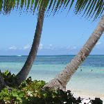 view from our beach chair... so pretty