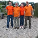the canoe hire team