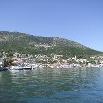 View across Vathy Bay