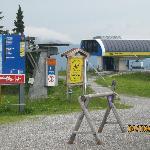 ski gebied fugen in de zomer