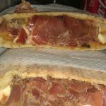 il re dei panini crudo e parmigiana