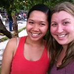 Thuy and I at the end of our sightseeing day!
