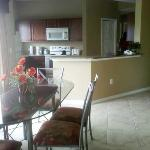 Spacious Dining and kithen area