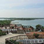 Vista de Playa Puntilla desde la Habitación