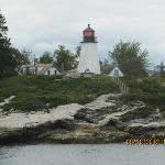 one of the many lighthouses - as seen from our harbor boat ride