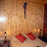 habitación de Cabaña Lapacho