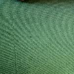 Der fleckige Teppichboden