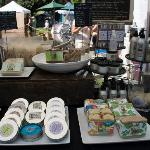saturday market .. lots of soap product