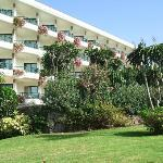 Rear of Hotel