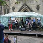 Band at the street fair