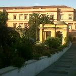 Vista Hotel dal parco