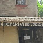 Obama visited here during his trip to Kenya.