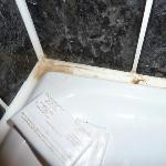 Mould around sink