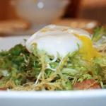 Frisee aux Lardons with Poached Egg