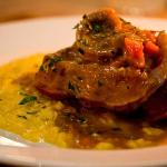 Rose Veal Ossobucco with Risotto alla Milanese (7.5/10)