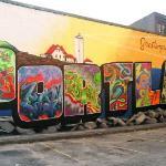 Welcome to Portland, Maine graffiti