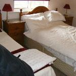 Double bed & single bed