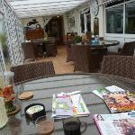 Malin House Hotel - Conservatory area