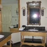 Master bath (two matching sinks)