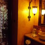 Villa downstairs bathroom
