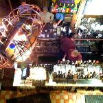 A view from above the bar at Magnolia's