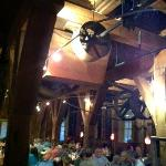 The indoor dinning room of Magnolia's