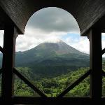 Volcano View from Lobby