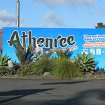 Entrance to Athenree Holiday Park