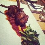 Grilled ayam penyet