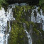 upper falls, 1/4 mile up from lower falls