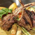 Lamb Rib in Green Curry Sauce