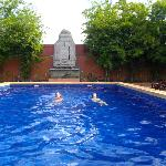 Luscious swimming