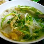 Pho at nearby food stall