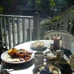 Garden Cafe breakfast