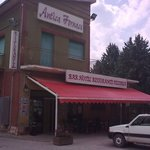 Antico Fornace from outside