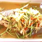 Steam Fish with soya sauce
