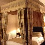 Four poster bed was beautiful