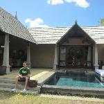 outside view of our Villa