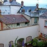 Normandy Courtyard and Vernon Rooftops