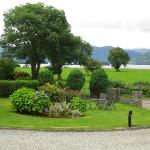 Courtyard at Loch Lein
