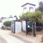 Entrance of Cottage Inn & Spa
