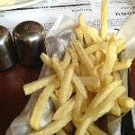 Crisp, golden, tasty fried morsels of lovliness. Not here unfortunately