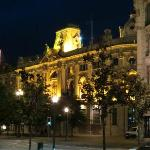 boulevard Aliados la nuit