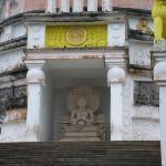 Buddha statue in Vishwa shanti stupa