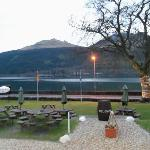 The view of Loch Long from the front door