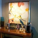 great coffee right in our room