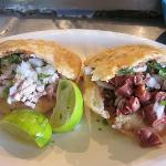 Gorditas with pork and organs