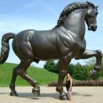 Horse at Meijer Sculpture Park