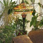 One of the beautiful Tiffany Lamps